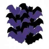 Flagermus pynt til halloween bordpynt, bordkort eller ophæng