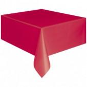 Rød papirsdug