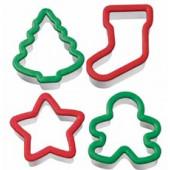Udstikker sæt - julefigurer