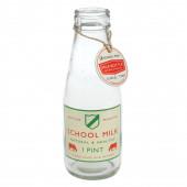 Stor nostalgisk mælkeflaske