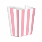 Popcornbægre - lyserød