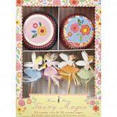 Magiske fe cupcake sæt