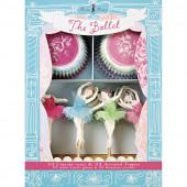 Meri Meri cupcake sæt - ballerina