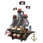 Sørøver og pirat pynt og borddekoration til piratfest