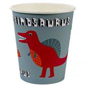 Meri Meri dinosaur papkrus, bordservice og pynt