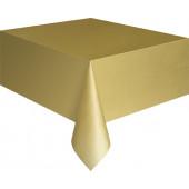 Guld plastik dug