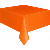 Orange plastik dug