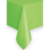 Lime grøn plastik dug
