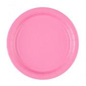 Pink paptallerkner