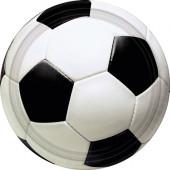 Fodbold paptallerkener