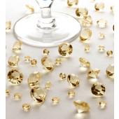 Bord krystaller - guld