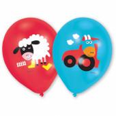 Balloner med båndegårdsmotiver