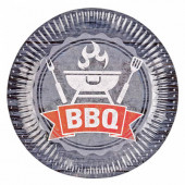 BBQ paptallerkner