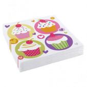 Cupcake servietter