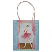 Ballerina godteposer til de små balletpiger
