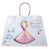 Prinsesse pynt til balloner til prinsessefest