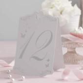 Sommerfugle Bordkort med numre