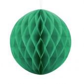 Grøn papirkugle - 30 cm