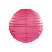 Rispapirlampe hot pink - 25 cm