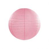 Rispapirlampe pink - 25 cm