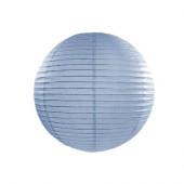 Rispapirlampe lys blå - 25 cm