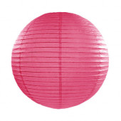 Rispapirlampe hot pink - 35 cm