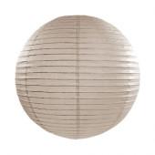 Rispapirlampe grå - 35 cm