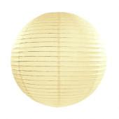 Rispapirlampe creme - 35 cm