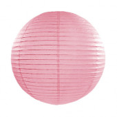 Rispapirlampe pink - 35 cm