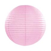 Rispapirlampe lys pink - 35 cm