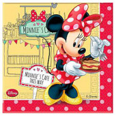 Minnie Mouse Cafe servietter
