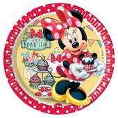Minnie Mouse Cafe paptallerkner