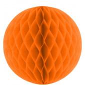 Orange papirkugle  Orange papirbolde