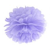 Pom pom lys lilla 25 cm