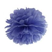 Pom pom navy blå 25 cm