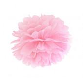 Pom pom lys pink 25 cm