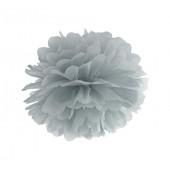 Pom pom grå 25 cm