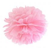 Pom pom lys pink 35 cm