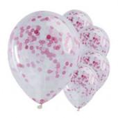 Pick & Mix pink konfetti balloner