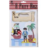 Pirat godteposer til pirat drengefødselsdag