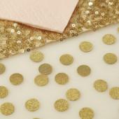 Konfetti - guld glitter