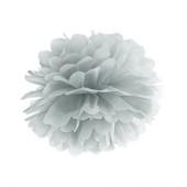 Pom pom sølv 25 cm