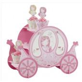 Prinsesse karet borddekoration