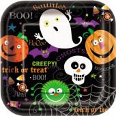 Spooky smiles halloween paptallerkener
