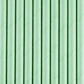 Papirsugerør - pastel mint - 10 stk