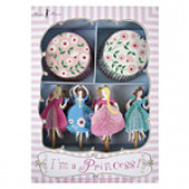 Meri Meri cupcake sæt - prinsessefest