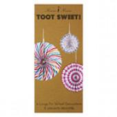 Meri Meri - Toot sweet papirfaner