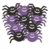 Eddekopper pynt til halloween bordpynt, bordkort eller ophæng