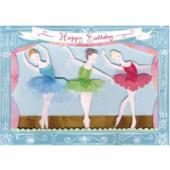 Meri Meri fødselsdagskort - Ballerina