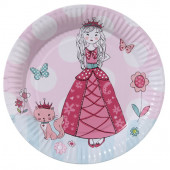 Prinsesse paptallerkener - prinsesse party